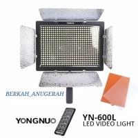 PAKET STUDIO MINI LED YONGNUO YN - 600L VIDEO LIGHTING + LIGHTSTAND