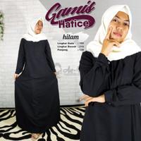 Dress menyusui murah / Gamis Polos busui / Pakaian hitam