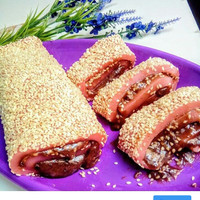 Kue Mochi Roll Gulung Kacang Merah Red Bean