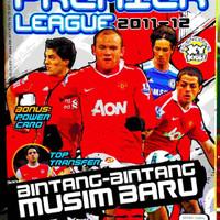 Majalah XY Kids Edisi Koleksi Premier League 2011-2012 Bonus Kartu