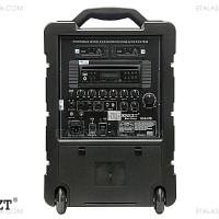 KREZT WAS-07D - PORTABLE SOUND SYSTEM DENGAN DVD PLAYER