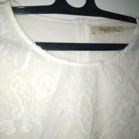 blouse atasan brokat putih lace premium bangkok bigsize