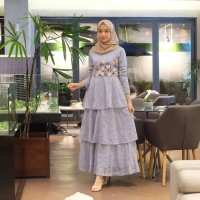 Brukat Dress Premium - Flowy Maxy Dress