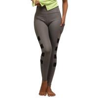 Legging Olahraga Gym Yoga Senam Fitness X Gottex Solid Panelled Mesh