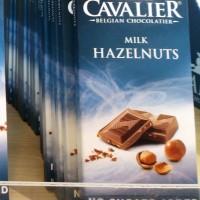 Cavalier   Belgian chocolatier   no sugar added   85 Gr   milk hazelnt