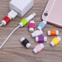 Fashion USB Kabel Earphone Pelindung Warna-warni Cover Case untuk iPho