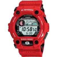 Jam Tangan Pria Casio G-SHOCK G-7900A-4DR Digital Red Rubber Strap