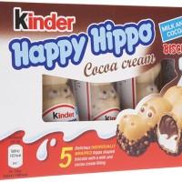 Coklat KINDER Happy Hippo Cocoa Creme isi 5pcs - Terenak Termurah