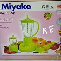 MIYAKO BLENDER PLASTIK 3IN1 GARANSI BL-152 PF-AP / BL-152PF/AP
