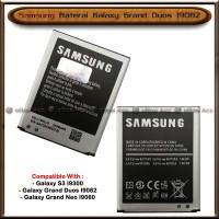 Baterai Samsung Galaxy Grand Duos I9082 Original Batre Batrai HP