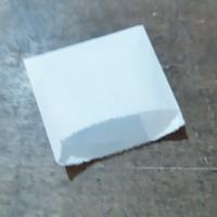 Paper bag/kantong kertas putih utk kentang goreng donut donat 11.5x11