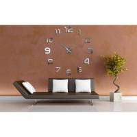 Jam Dinding Raksasa DIY 80-130cm Diameter - 002BB
