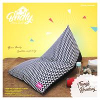 Beanbag / Bantal Duduk / Cushion ( Ukuran L ) 90x140cm isi sterofoam