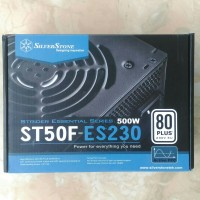 SilverStone Power Supply Unit PSU ST50F-ES230 500W 80 PLUS
