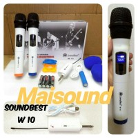 MIC WIRELESS SOUNDBEST W10 ORIGINAL MICROPHONE W 10