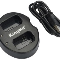 [MG]KingMa Charger Baterai 2 Slot for Sony A5000 A5100 A6000 NP-FW50