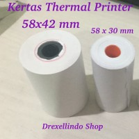 Kertas Printer Thermal 58 x 42 mm