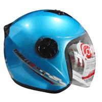 Helm FOZ Thriller Solid Ice Blue