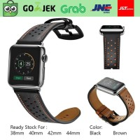 Apple Watch Strap 40mm 44mm Leather iWatch Band 40 44 mm Series 2 3 4
