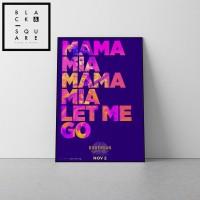 Premium Poster wood frame Queen Bohemian Rhapsody Official Poster A2 2