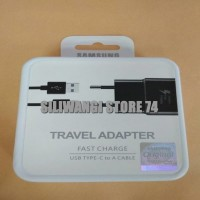 Charger HP Samsung Galaxy A3 A5 A7 2017 C9 C 9 PRO Kabel Data Type C - Hitam