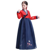 Hanbok girl anak dress korea kostum korean traditional clothes long 2