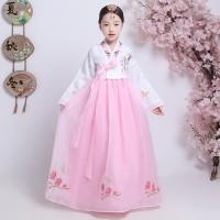 Hanbok girl anak dress korea kostum korean traditional clothes long