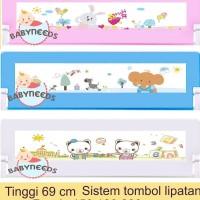 69 cm bedrail pengaman kasur bayi / bed rail murah /pagar kasur bayi