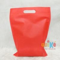 TAS KAIN SPUNBOND 25x35 Souvenir Goodie Bag Seminar Wedding Ultah anak