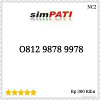 Nomor Cantik Simpati seri urut naik 789 hoki 0812 9878 9978 SN11