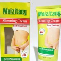 Meizitang slimming cream pelangsing dan mengurangi perut yang buncit