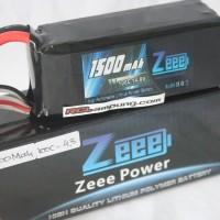 Zeee 1500mah 4s 14.8v 100C Lipo Battery