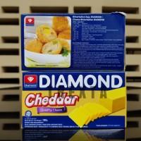 KEJU CHEDDAR CHEESE DIAMOND 180 GRAM