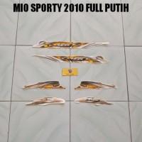 Striping Mio Sporty 2010 Full Putih