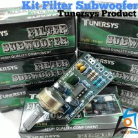 Kit Filter Subwoofer Tunersys Product