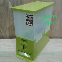 Rice box maspion 12kg wadah beras tempat beras