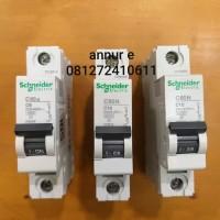 Mcb C60a C60N 1phase /1pole 6A , 10A, 16A schneider