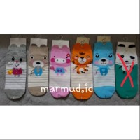 Kaos kaki kawaii korea animal kaos kaki wanita dewasa remaja lucu