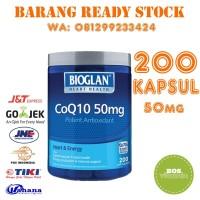 Bioglan COQ10 50mg - 200 kapsul