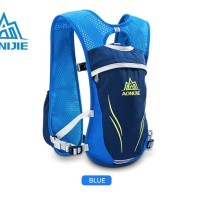 AONIJIE Hydration Backpack E885 5.5L Trail Marathon Running Blue