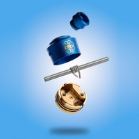 Authentic Dotmod Single Coil RDA 22mm - Blue