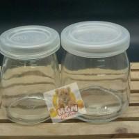 Botol Jar Toples Kaca (PENDEK) 150ML : Puding/Selai/Susu/Yoghurt 2393