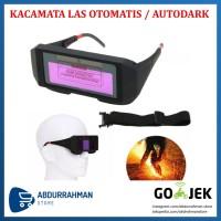 Kacamata Las Autodark Otomatis Auto Dark Surya Automatic Darkness