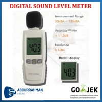 Sound Level Meter Noise Test Tester Pengukur Kebisingan Suara Digital