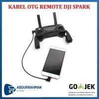 Kabel OTG Micro USB Tipe C Android IPhone IOS Remote DJI Spark Mavic