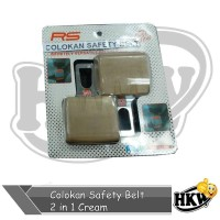 Colokan Safety Belt 2 in 1 Cream Mobil Wuling Confero