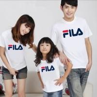 Baju Family Couple Kaos Pasangan Keluarga 1 Anak Fila 11149