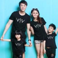 Baju Family Couple Kaos Pasangan Keluarga 2 Anak Wiro Sablang 11150