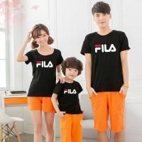 Baju Family Couple Kaos Pasangan Keluarga 1 Anak Fila 11147