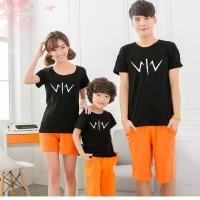 Baju Family Couple Kaos Pasangan Keluarga 1 Anak Wiro 11152